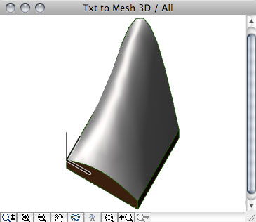 Xyz Mesh Excel